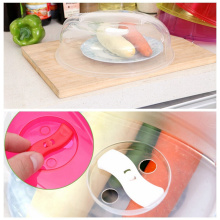 Microwave Oven Special Heating Cookware Parts Anti-oil Cover Household Plate Lid Bowl Lid 3 Colors Cookware Parts