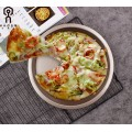 Champagne gold 10 Inch Pizza Baking Plate Tools