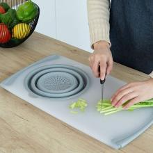 Kitchen Chopping Board Sinks Drain Basket Container