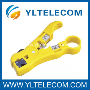 Durable Hardware Networking Tools RG Cable Stripper with Cable Cutter