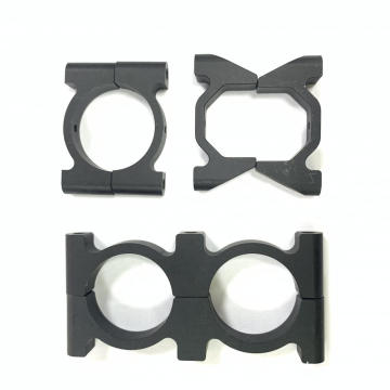 High Quality CNC Machining Aluminium Square Tube Clamp