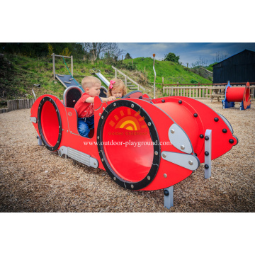 Cute Car Outdoor HPL Playground Playhouse