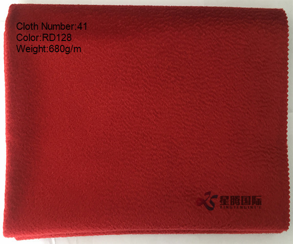 Single Face Water-wave Wool Fabric
