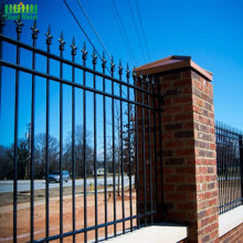 Metal Forged Spear Tops Ornamental Wrought Iron Fence