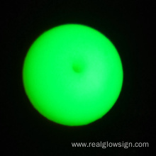 Realglow Photoluminescent 데모 Yellowgreen