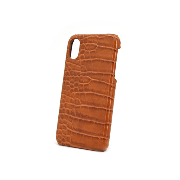 Exotic Alligator Crocodile Pattern Leather Phone Cases