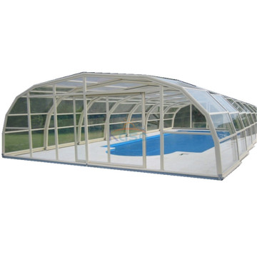 Pvc Automatic Swimming Roof Remote Control Pool Cover