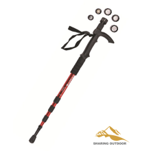 Walking stick with LED Flashlight