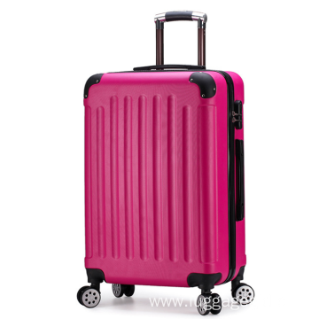 24 inch abs trolley luggage bags factory