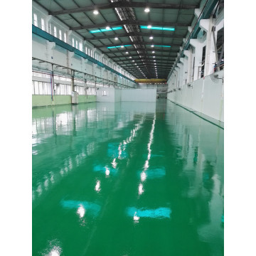 Anti-scratch epoxy mortar self-leveling floor