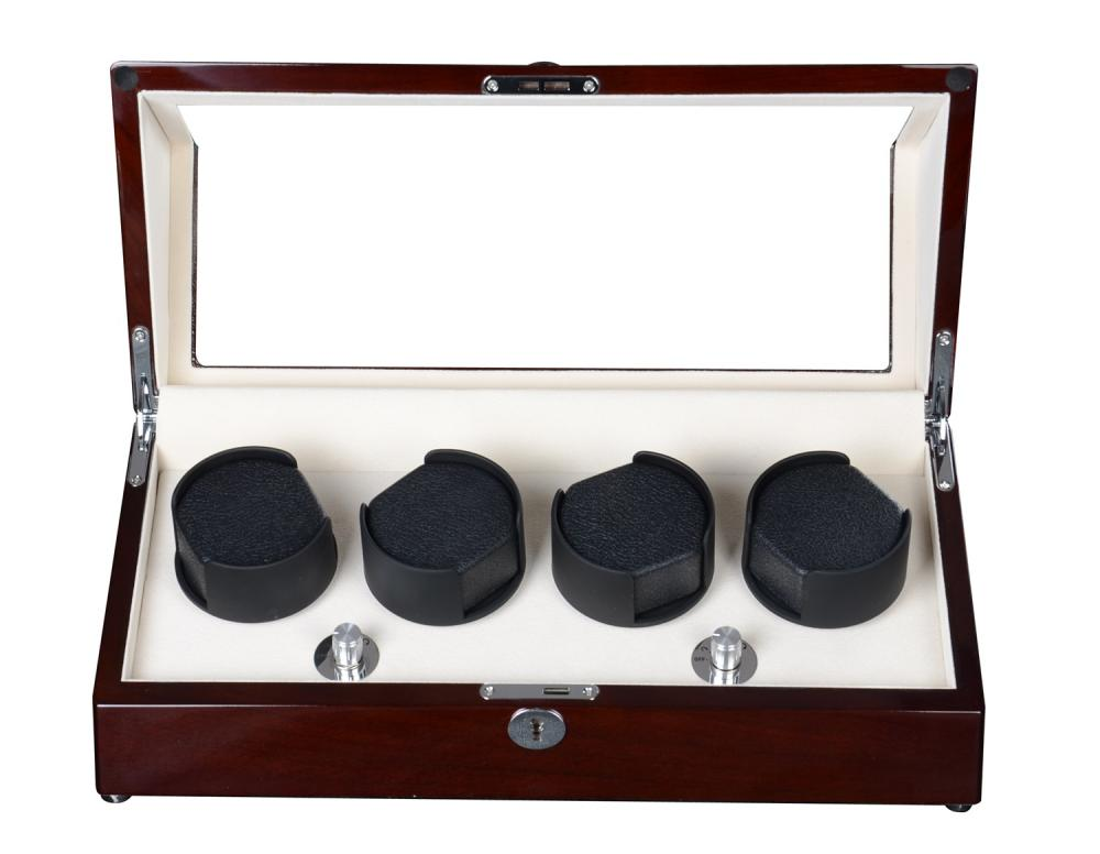 Triple Rotors Automatic Rolling Watch Winder