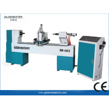4 Axis CNC Wood Lathe Machine