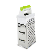 Stainless Steel 4 Sides Box Grater Cheese Grater