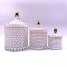 geo cut jar set of three
