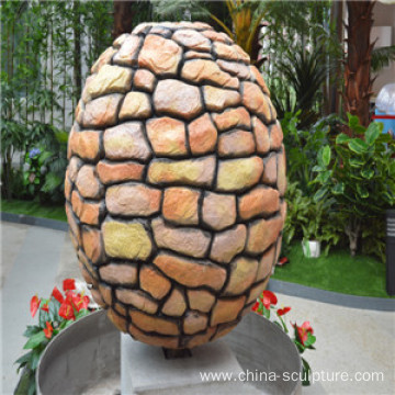 Modern High quality fiberglass sculpture-lucky ball