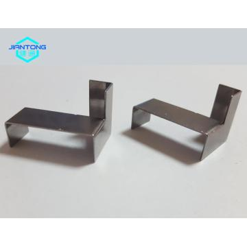 Custom made small flat metal bracket