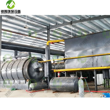 Waste Plastic to Diesel Fuel Machine
