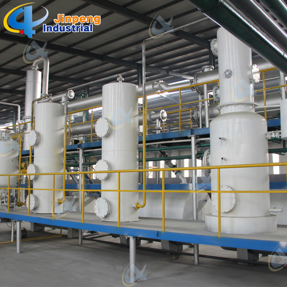 Integrated Design More Oil Output Waste Plastic Incinerator