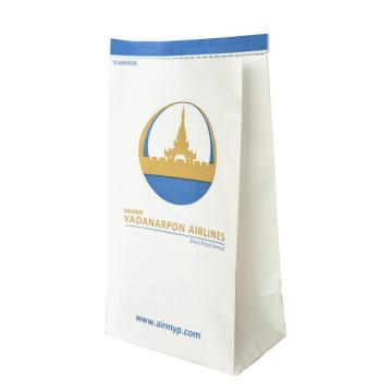 OEM Production Airline Air Sickness Paper Bag