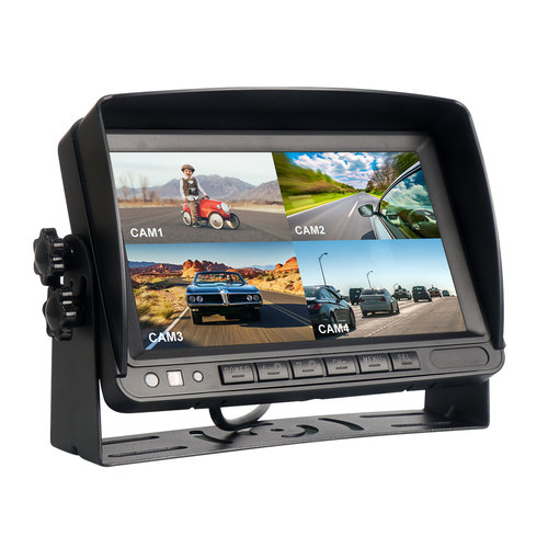 180 Degree Image Flip Truck Monitor with Guidelines
