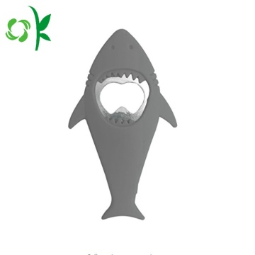 Shark Shape Silicone Home Jar Bottle Opener Plug