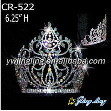 Rhinestone Pageant Crowns For Sale CR-522