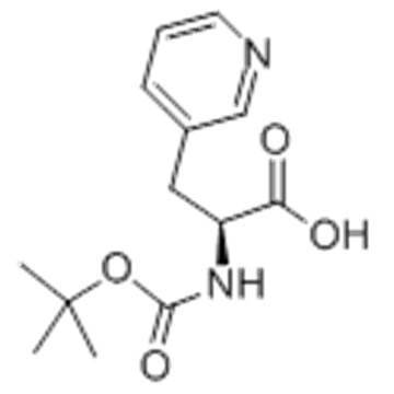 3-Pyridinepropanoicacid, a-[[(1,1-dimethylethoxy)carbonyl]amino]-,( 57251994,aS)- CAS 117142-26-4