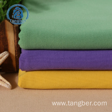 100% combed cotton yarn jersey knit fabric