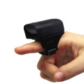 Mini bluetooth finger ring scanner for courier using