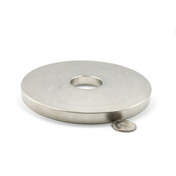 Round disc Permanent Rare earth Neodymium magnet