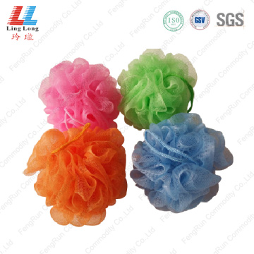 Graceful shine mesh bath sponge