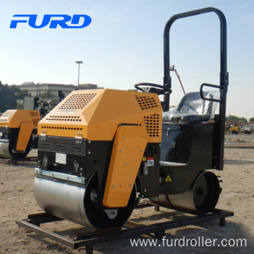 800kg ride on double drum compactor (FYL-860)