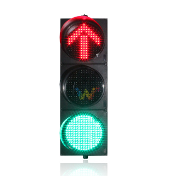 400mm 3 Color LED arrow Traffic Signal Light