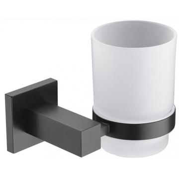 Living Room Used Glass Holder With Cup Black