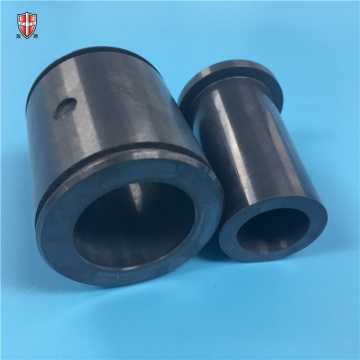 high precision Si3N4 ceramic shaft plunger sleeve