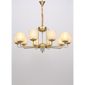 New Design Living Room Decorative Golden Iron Chandelier