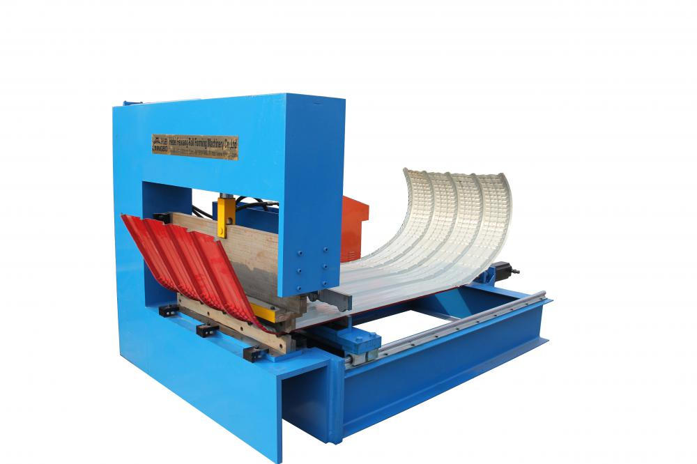 Hydraulic Metal Roofing Panel Bending Machine