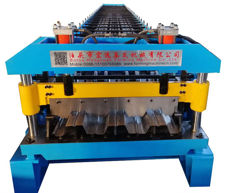 Floor Decking Making Machine