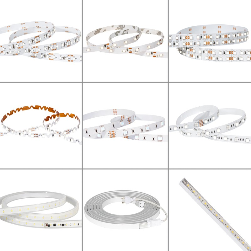 Color Temperature Adjustable Led Strip 3528 3014