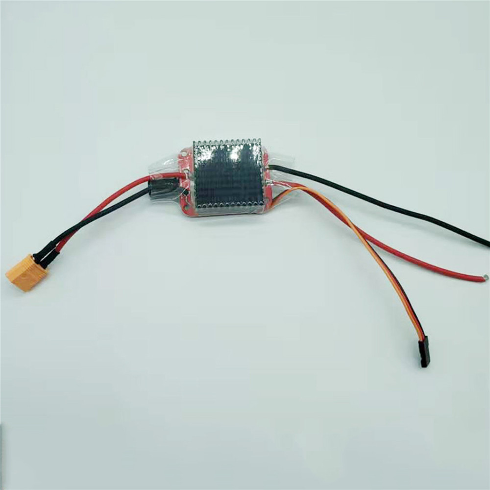 High Voltage 3S-6S 24V 2-Way Brushed ESC Bidirectional Electronic Speed Controller for RC Boat Accessories