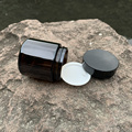 HORNET sealed deodorant glass herb container spice storage bottle medicine bottle storage tank oil wax container