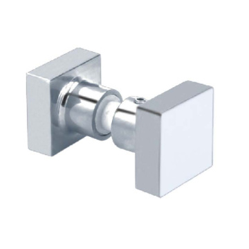 Frameless Door Handle Knobs for Bathroom