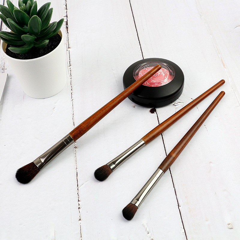 aluminum ferrule brush for makeup