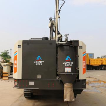 Surface Integrated TH drill rig