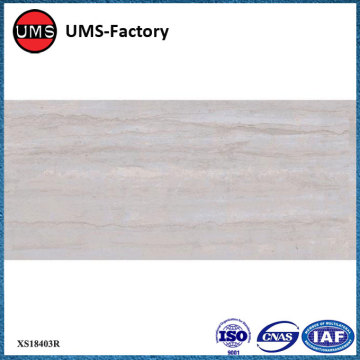 Thin grey rectangular wood effect tiles