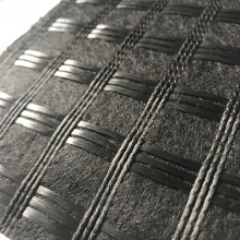 Fiberglass Geogrid Stitched with Geotextile Coated Bitumen