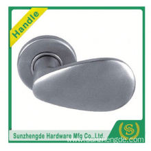 SZD Mingjia hot sale stainless steel door handle for indoor with round rosette