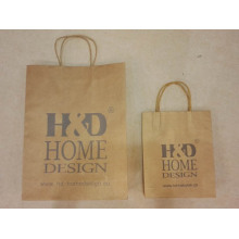 Custom Brown Bags With Handles