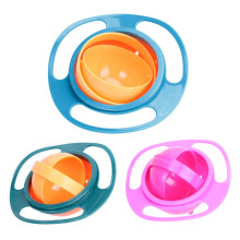 Universal Gyro Bowl 360 Rotate Spill-Proof Baby Feeding Dish Cute Baby Gyro Bowl Children's Baby Tableware baby gyro bowl