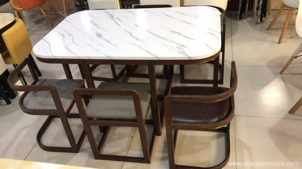 Metal Dining table set  Rectangle
